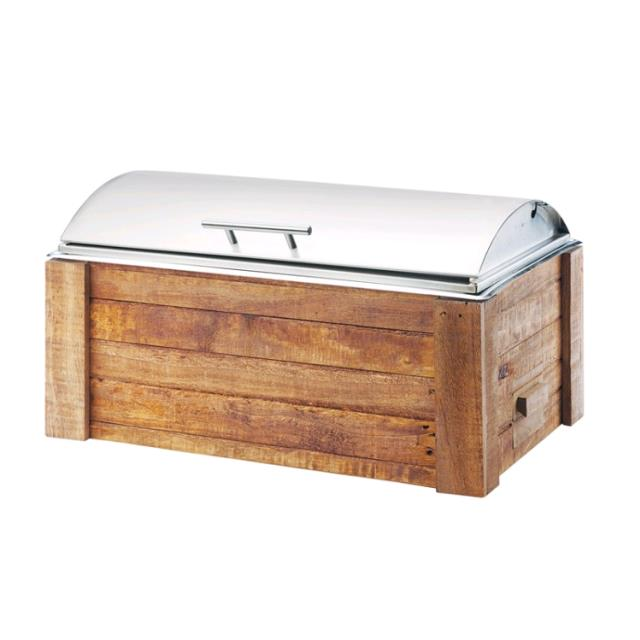Where to find CHAFER, 8 QUART RECLAIMED WOOD in Colonial Heights