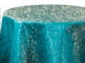 Rental store for GOLD   TURQUOISE IRIDESCENT CRUSH LINENS in Colonial Heights VA