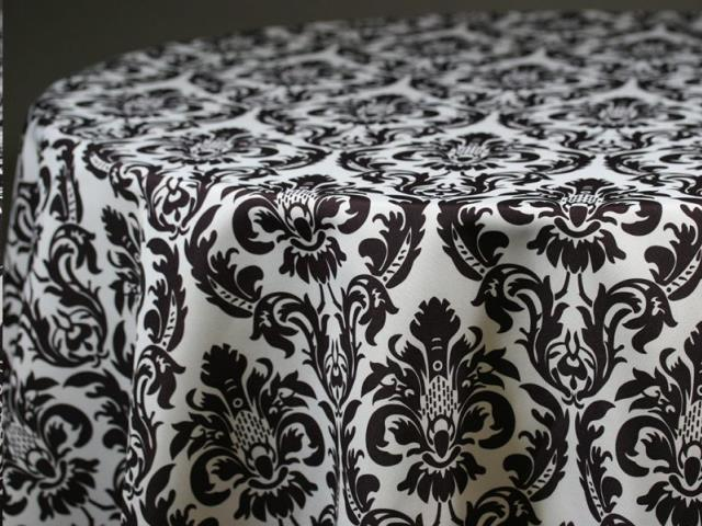Where to find BLACK   WHITE DAMASK LINENS in Colonial Heights
