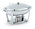 Rental store for PAN, 6 QT CHAFER OVAL STAINLESS in Colonial Heights VA