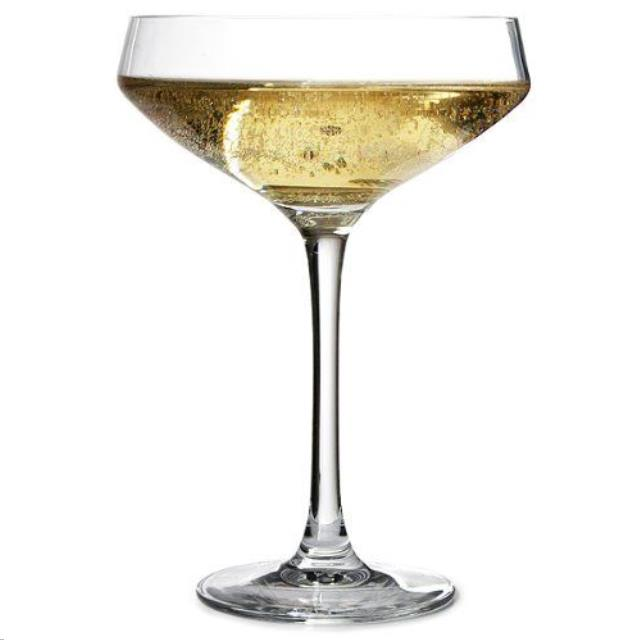 GLASS CRYSTAL CHAMPAGNE COUPE 8.8OZ Rentals Colonial