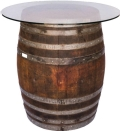 Rental store for WINE BARREL GLASS TABLETOPPER 36 in Colonial Heights VA