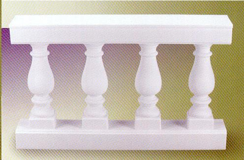 Balustrade White 48 Inch Railing Rentals Colonial Heights