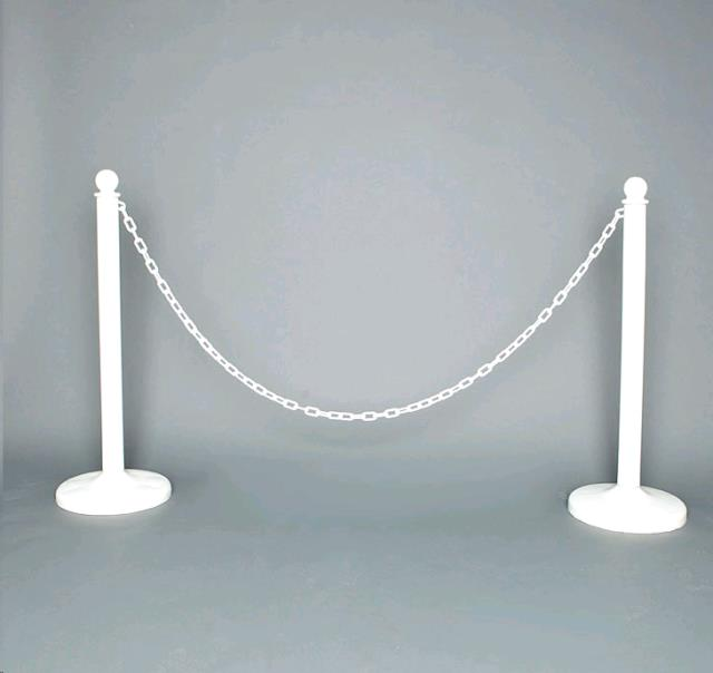 stanchion white 10 foot chain rentals colonial heights va where to