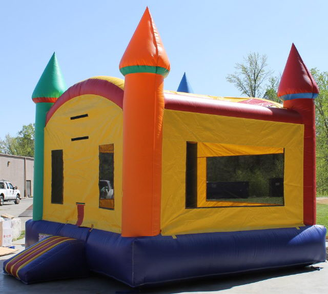 Where to find MOONWALK, MULTI COLOR CASTLE in Colonial Heights