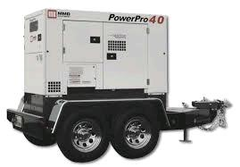 Where to find GENERATOR, TOWABLE 40 KVA DIESEL in Colonial Heights