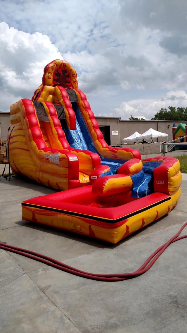 Where to find MOONWALK, FIRE   ICE SLIDE WITH POOL in Colonial Heights