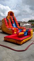 Rental store for MOONWALK, FIRE   ICE SLIDE WITH POOL in Colonial Heights VA