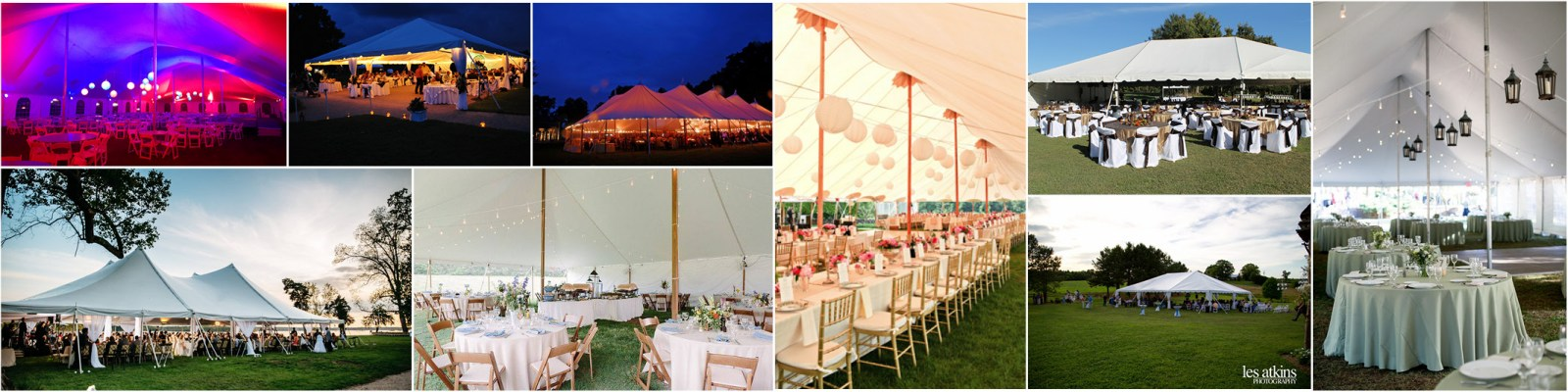 Tent services in Richmond VA, Colonial Heights, South Hill, Chester, and Petersburg Virginia