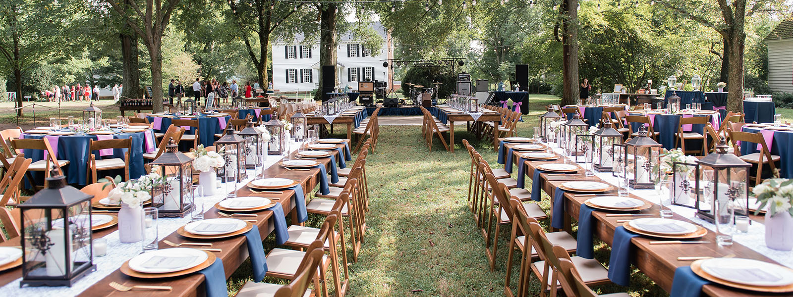 Event rentals in Richmond VA, Colonial Heights, South Hill, Chester, and Petersburg Virginia